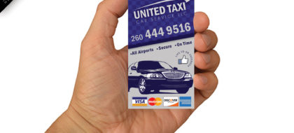 United Taxi Business Card Demo